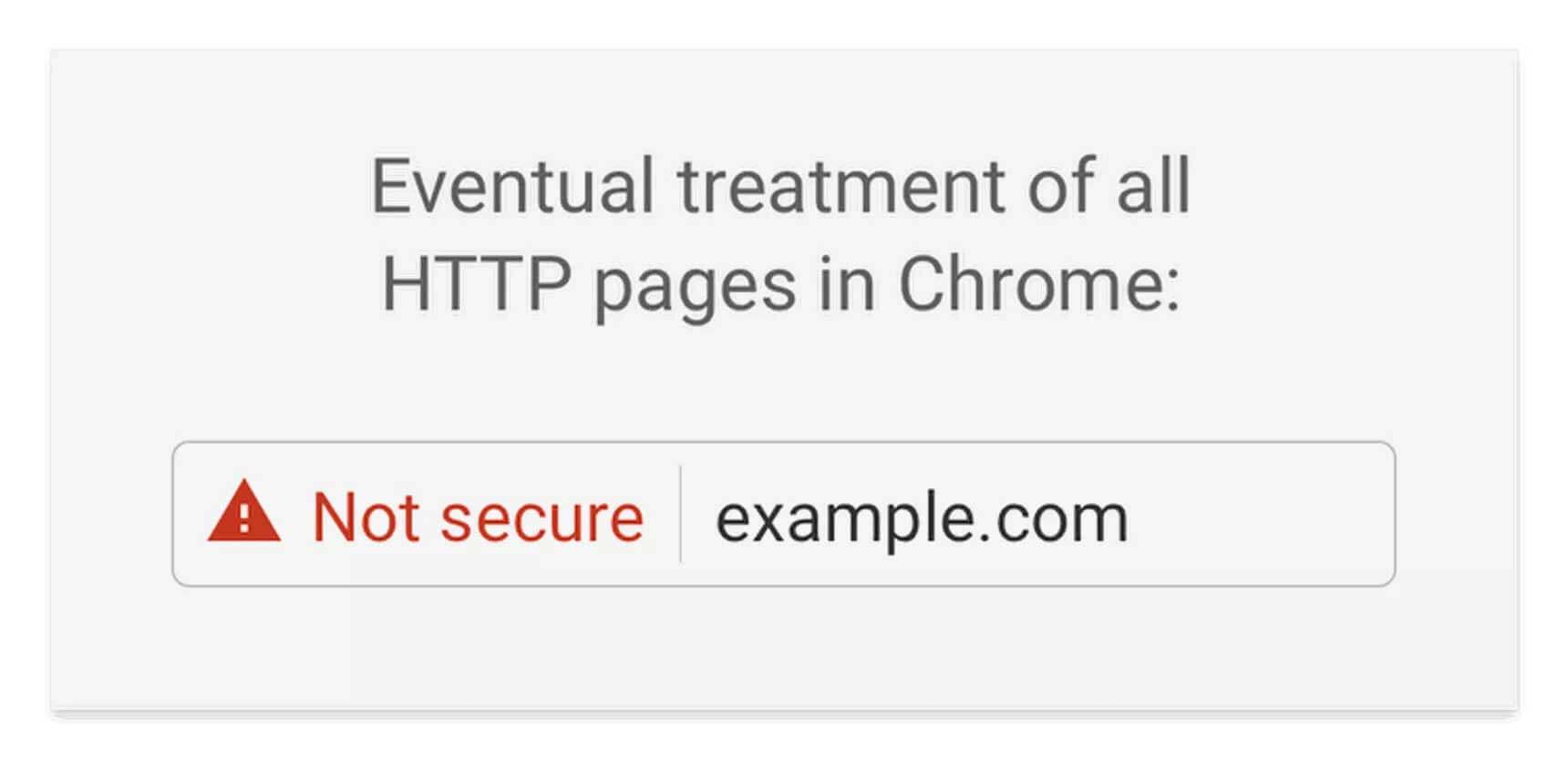 Пометка not-secure в Chrome